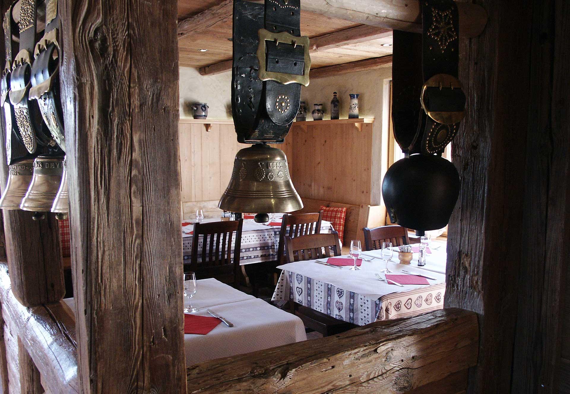 salle à manger auberge Schnepfenried